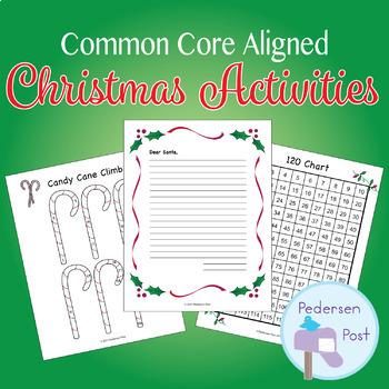 Christmas Activity Bundle (Common Core Aligned)