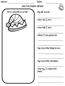 Christmas Activities Holiday Bundle - Math, ELA and STEM - NO PREP
