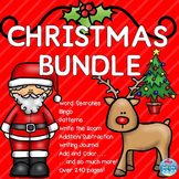 1st Grade Christmas Activities Bundle! Christmas Math and ELA