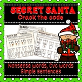 Christmas Activity CVC Words Nonsense