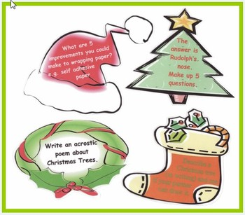 Christmas Activity Cards - set of 30