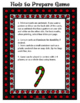 Christmas Activity Holiday Trivia Game