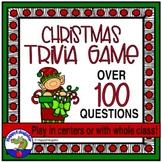 Christmas Activity Holiday Trivia Game