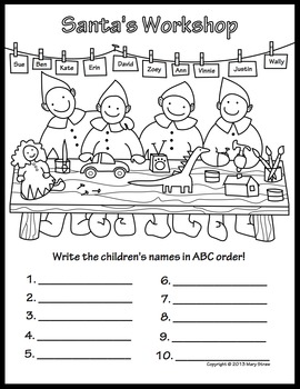 Christmas Activity Coloring Pages