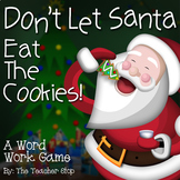 Christmas Activity:  Don't Let Santa Eat the Cookies {Updated}