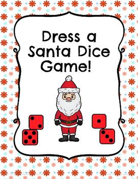 Christmas Activity Dress a Santa!