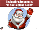 """Christmas Activity Argument Analysis  """"Is Santa Real?"""""""