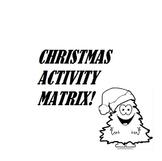 Christmas Activity Matrix