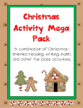 Christmas Activity Mega Pack