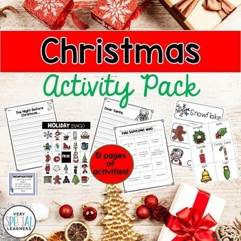Christmas Activity Pack!