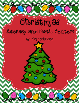 Christmas Literacy and Math Centers