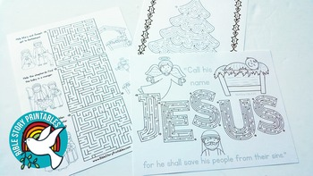 Christian Christmas Activity Pack