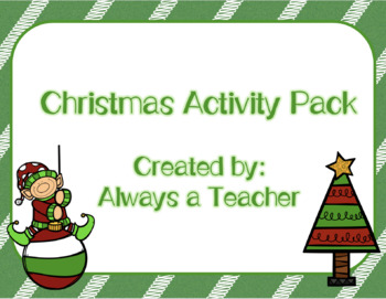 Christmas Activity Pack