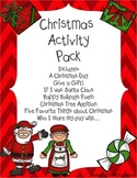 Christmas Activity Pack {Emily Education}