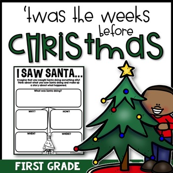 Christmas Activity Pack - First Grade