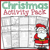 Christmas Activity Pack - Grades 5 - 6