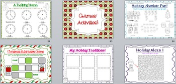 CHRISTMAS Activity Pack! Projects, games, recipes, and MORE!