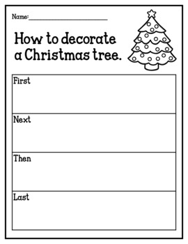 Christmas Activity Pack (activity sheets, writing craftivity & board game)