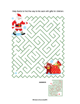 Christmas Activity Pack for All Ages