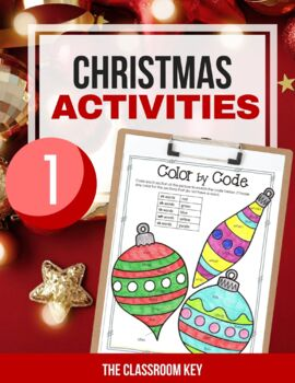 Christmas Activities Packet for 1st Grade