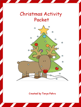 Christmas Activity Packet