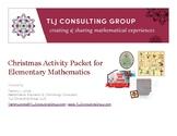 Christmas Activity Packet for Elementary Mathematics