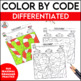 A Christmas Activity Parts of Speech Color By Code