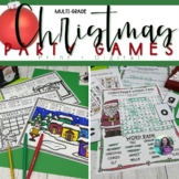 Christmas Party Pack: Christmas Activities & Games, Christmas Letters Home