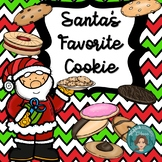 Christmas Activity - Santa's Favorite Cookie writing project
