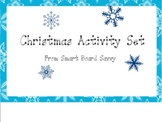 Christmas Activity Set for Smart Board
