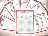 Christmas Activity Sheets - set of 10