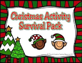 Christmas Activity Survival Pack {Australian Version}