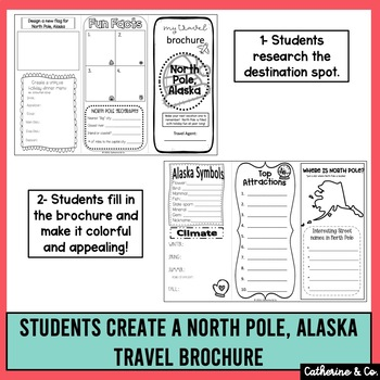 Christmas Activity | Travel Brochure to North Pole