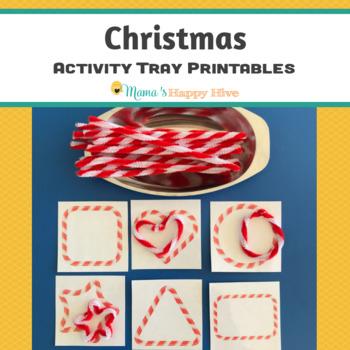 Christmas Activity Tray Printables