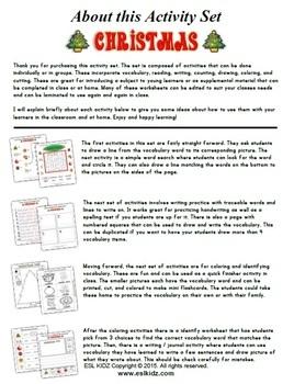 Christmas Activity Workbook