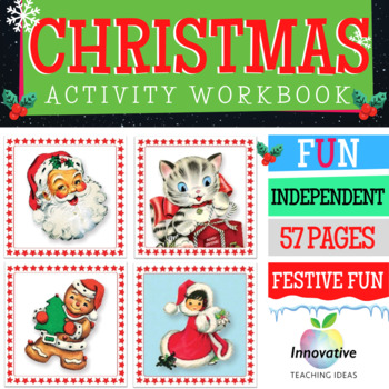 Christmas Activity Workbook: 57 Pages of Festive Tasks