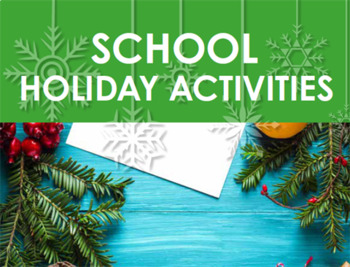 Christmas Activity - Year 6, 7, 8 and 9