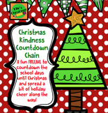 Christmas Acts of Kindness Countdown Chain