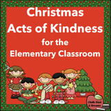 Christmas Acts of Kindness for the Elementary