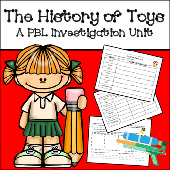 PBL (Project Based Learning) Research Unit:The History of Toys