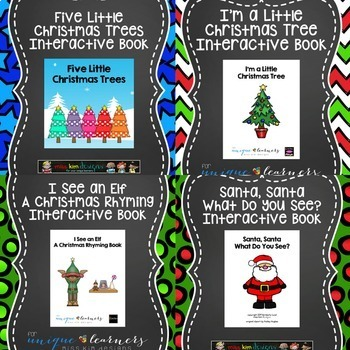 Christmas Adapted Book Bundle: 7 Adapted Books + Bonus Free Book
