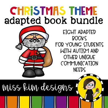 Christmas Bundle: 8 Christmas Themed Adapted Books for Students with Autism