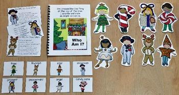 "Christmas Adapted Book--""Christmas Who Am I?"""
