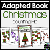 Christmas Adapted Book (Counting 1-10)