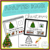 Christmas Adapted Book & Student Book for Early Childhood