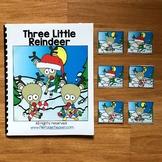"Christmas Adapted Book:  ""Three Little Reindeer"""