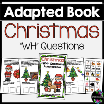 Christmas Adapted Book (WH Questions)