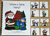 "Christmas Adapted Book--""Where is Santa Hiding?"