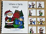 "Christmas Adapted Book--""Where is Santa Hiding?"