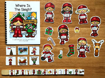 "Christmas Adapted Book--""Where is the Sleigh?"""